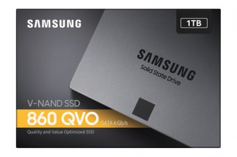 Disque SSD Samsung 860 QVO 1 To