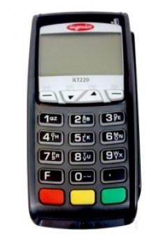 Lecteur carte bancaire iCT220 CB EMV 5.5 1LS IP/RTC
