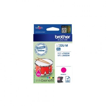 Brother LC-22UM 1200pages Magenta cartouche d'encre