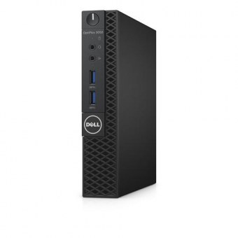 DELL OptiPlex 3050 3.4GHz i3-7100T Micro tour Noir Mini PC