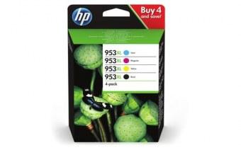 HP 953XL Original Noir, Cyan, Magenta, Jaune Multipack