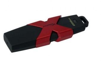 HyperX 256GB 256Go USB 3.0 (3.1 Gen 1) Type A Noir, Rouge lecteur USB flash