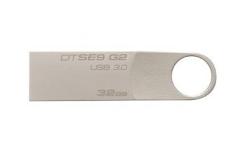 Kingston Technology DataTraveler SE9 G2 32GB USB 3.0 (3.1 Gen 1) Type A Argent lecteur USB flash